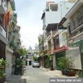 Cho thuê nhà nguyên căn HXH ra vào thoải mái, hẻm 192 Hòa Bình, Q Tân Phú - 12tr/th