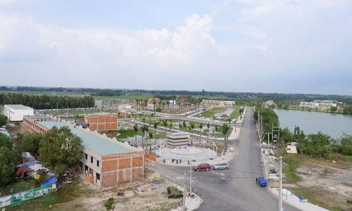 Đất nền tỉnh giáp ranh tăng giá theo cơn sốt đất Sài Gòn