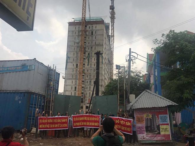 Chủ đầu tư 7 lần thất hứa, khách mua dự án Tân Bình mòn mỏi chờ nhà