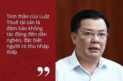 Bộ trưởng Bộ Tài Chính Đinh Tiến Dũng khẳng định
