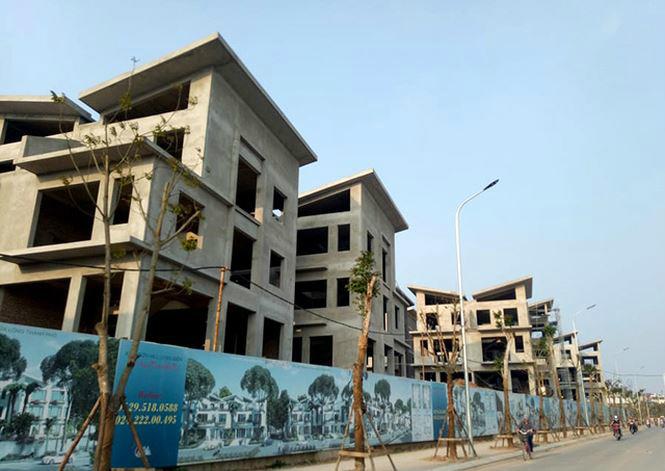Phó thủ tướng yêu cầu làm rõ vụ 26 biệt thự Hà Nội xây thô mới xin phép