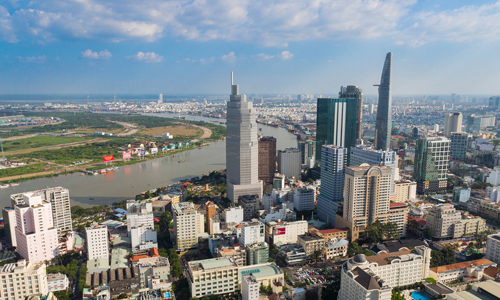 Giá nhà hạng sang Sài Gòn bằng một phần tư Hong Kong